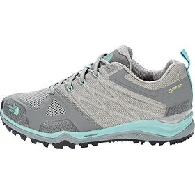 The North Face Ultra Fastpack II GTX Shoes Women Moon Mist Grey/Agate Green